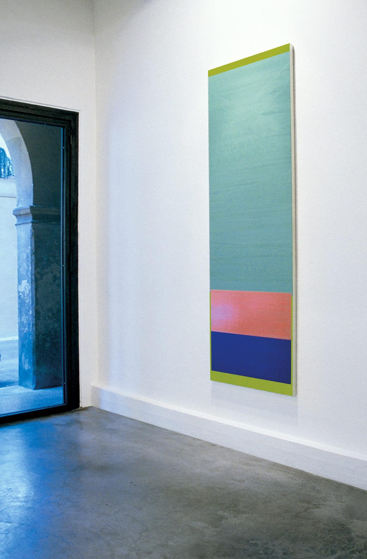 Antonio Catelani - Antonio Catelani Ipercromo 2001 Galleria NoCode Bologna
